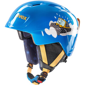 UVEX Manic Helm Kinderen, blue caterpillar
